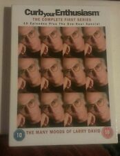 Curb Your Enthusiasm - Series 1 - Complete (DVD, 2004, Larry David) - FREE P&P