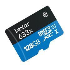 Lexar 128GB 128G 633x 95MB/s Micro SDXC MicroSD Class10 Card Only AU GoPro