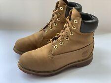 Timberland Premium Women's Brown Tan Boots UK 6 gardening walking yard outdoor
