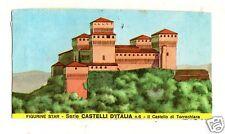 FIGURINA  CARTONATA BRODO STAR SERIE CASTELLI D'ITALIA NR 6 CASTELLO TORRECHIARA