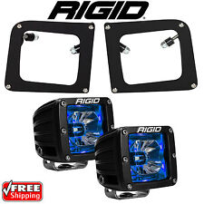 Rigid Radiance LED Fog Light Kit Blue Backlight for 14 15 GMC Sierra 1500 20201