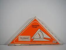 "Vintage TACRO Adjustable 6"" Triangle Drafting NR. 4454 Germany in Original Box"