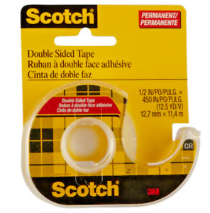 3M Scotch Double Sided Tape (137) 11.4m