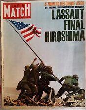 Paris Match du 4/9/1965; Numéro Historique l'assaut final Hiroshima/ Dali