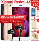 """Original Xiaomi Redmi 4X 4GB+64GB Snapdragon 435 Octa Core 5"""" 4100mAh MIUI8 LTE"""