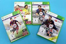 XBOX 360 Fussball Spiele Set - Fifa 12, Fifa 13, Fifa 14, Fifa 15