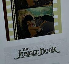 Disney Animation Authentic Film 5-Cell Strip THE JUNGLE BOOK Mowgli & Raksha