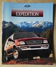 FORD EXPEDITION ORIG 1997 USA inchiostri Prestige LUCIDO SALES BROCHURE - 4X2 4X4 Bauer