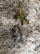 2x Schleich Velociraptor Triceratops Dinosaur Am Limes 69 D73527 D-73527