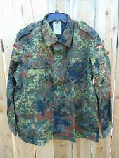 German Army Flecktarn Camo Jacket Lg. Gr. Nr. 10, new 1997 old stock, non-issued