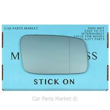 For Volvo s70 v70 1996-2000 Right Driver side Blue Aspheric wing mirror glass