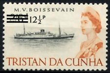 Tristan Da Cunha 1971 SG#145, 12.5p On 2s6d Ship Definitive MH #D25612