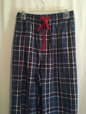 Cremieux Men Cotton Lounge Pajama Pants Sz XL XLT 2XLT 4XB Blue Red Plaid NWT