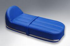 Lambretta Nanucci Style Cafe Racer seat Union Jack Blue