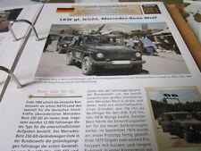 Archiv Militärfahrzeuge Leichte Rad Kfz Deutschland 5.1 Mercedes Benz Wolf