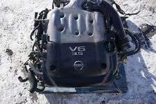 03-06 JDM Nissan 350z Infiniti G35 3.5L Engine 6 Speed Transmission JDM VQ35DE