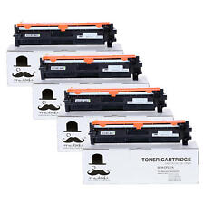 4PK 17A CF217A Black Toner Cartridge With Chip For HP LaserJet Pro MFP M130fw