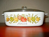 Rare *179 STAMP Vintage Corning Ware  L'Echalote A -1 - B  Spice Of Life 1 Quart