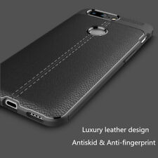 For OnePlus 5T Luxury Slim Carbon Fiber Shockproof Soft TPU Case Back Cover 2017