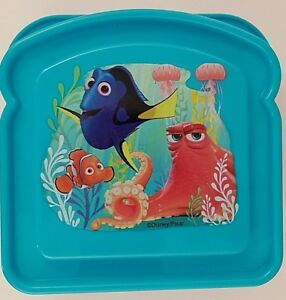Lunch Sandwich Containers for Children Disney Paw Patrol or Heroes, Select Theme