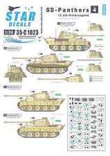 Star Decals 1/35 SS PANTHERS 12.SS HITLERJUGEND 1944