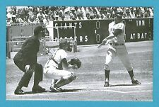 Ron Hunt (Giants) Vintage Baseball Postcard By Edward A. Broder