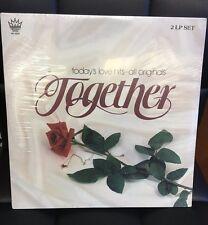 V/A Together: Today's Love Hits All Original Still Sealed 2LP Vinyl Soft Rock