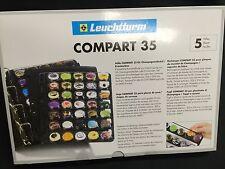 5 FEUILLES COMPART 35  POUR CLASSEUR VARIO POUR RANGER 175 CAPSULES