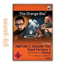 The Orange Box pack (Half-Life 2 + Episode 1 & 2 + portale) PC STEAM MULTIL regfr