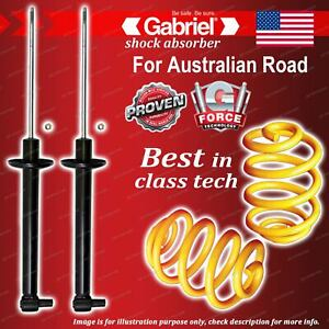 Rear Gabriel Ultra Shocks + Lowered King Coil Springs for Audi A4 Series B5
