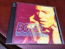 DAVID BOWIE - THE SINGLES COLLECTION - 2 X GREATEST. HITS CD SET - LET'S DANCE +