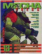 MECHA PRESS #13 (Giugno/Luglio 1994) Dream Pod 9 anime magazine fuori catalogo