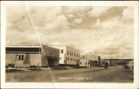 Dawson Creek BC Street View Real Photo Postcard