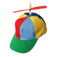 Adult Propeller Hat Clown Costume Accessory Baseball Copter Helicopter Ball Cap