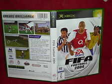 FIFA FOOTBALL 2004 (XBOX GAME, G)(NO GAME BOOKLET)