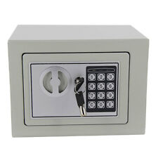 New Digital Electronic Home Office Safe Security Box Wall Jewelry Gun Cash Gray