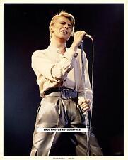 DAVID BOWIE exceptionnelle photo en tirage limité de l'année 1983