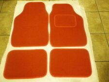 RED CAR MATS INTERIOR CARPET MATS FOR NISSAN MICRA JUKE NOTE PIXO QASHQAI