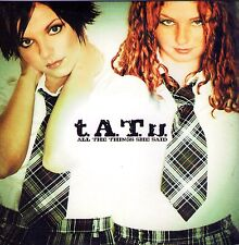 CD  CARDSLEEVE TATU (T.A.T.U) 2t ALL THE THINGS SHE SAID  DE 2002 NEUF SCELLE