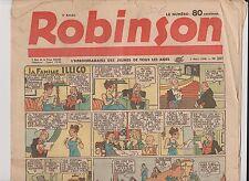 ROBINSON n°201 - 3 mars 1940. L'hebdomadaire des jeunes