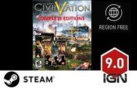 Sid Meier's Civilization V Complete Edition [PC] Steam Download Key