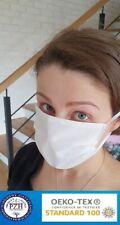 Mund Nasen Maske 3 Lagig Behelfsmundschutz waschbar & wiederverwendbar Atemmaske