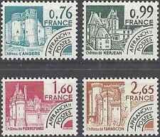 Timbres France préoblitérés Chateaux 166/9 ** lot 26439