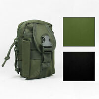 Tactical MOLLE UTILITY BELT POUCH Airsoft Army Military Webbing - Colour Option