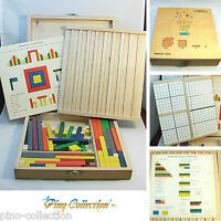 VINTAGE SIMPLEX DUTCH WOOD TOY CONSTRUCTION WOODEN BOX INSTRUCTIONS A3A
