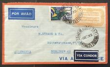 Brazil 1936. Air mail cover to Germany.