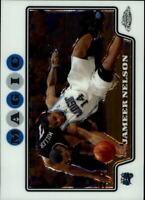 2008-09 Topps Chrome Orlando Magic Basketball Card #97 Jameer Nelson