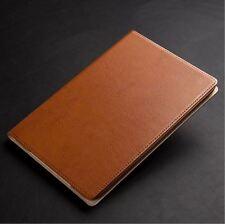 Apple iPad (2017) Genuine Cowhide Leather Folio Case w/ Sleep-Wake A1822 & A1823