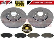 REAR BRKE DISCS AND PADS FOR VAUXHALL OEM QUALITY 24571279