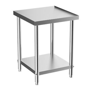 Commercial Stainless Steel Kitchen Catering Table Work Bench Worktop Food Prep